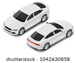 vector isometric high quality... | Shutterstock .eps vector #1042630858