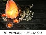 Himalayan Salt Lamp  Candles...