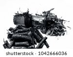 ayurvedic herb liquorice root... | Shutterstock . vector #1042666036