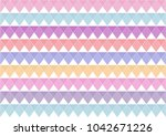 abstract colorful geometric... | Shutterstock .eps vector #1042671226