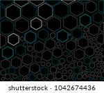 abstract  geometric pattern of... | Shutterstock .eps vector #1042674436