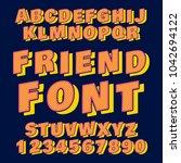 font design   handcrafted...   Shutterstock .eps vector #1042694122