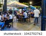 granada  nicaragua   january 20 ... | Shutterstock . vector #1042702762