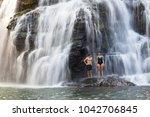 nauyaca  costa rica   january... | Shutterstock . vector #1042706845