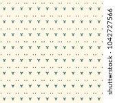 feminine surface texture.... | Shutterstock .eps vector #1042727566