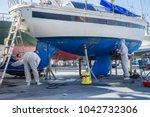 tivat  montenegro  november 4... | Shutterstock . vector #1042732306