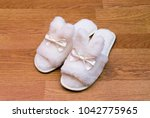 top view of a pair of new soft... | Shutterstock . vector #1042775965