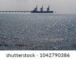 coast of the mediterranean sea... | Shutterstock . vector #1042790386