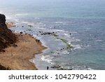 coast of the mediterranean sea... | Shutterstock . vector #1042790422