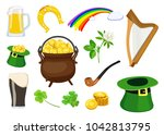 vector collection of irish...   Shutterstock .eps vector #1042813795