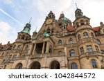 Stock photo new town hall hannover germany 1042844572
