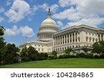 Stock photo us capitol building in washington dc united states 104284865
