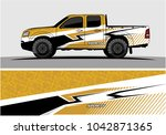 truck graphic background kit... | Shutterstock .eps vector #1042871365