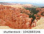 Small photo of Majestic ochre panorama in Bryce Canyon National Park, Utah.