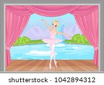 illustration of beautiful... | Shutterstock .eps vector #1042894312