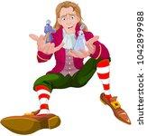 Gulliver Holds Lilliputians On...