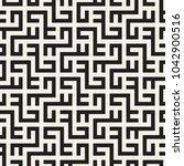 vector seamless pattern. modern ... | Shutterstock .eps vector #1042900516