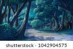 paint illustrations in the wild ...   Shutterstock . vector #1042904575