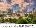 sarasota  florida  usa downtown ...   Shutterstock . vector #1042910695