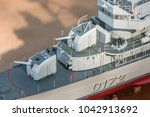 rc scale model ship at... | Shutterstock . vector #1042913692
