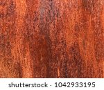 old grungy and dirty red rusty... | Shutterstock . vector #1042933195