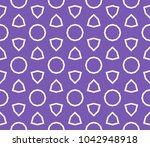 traditional geometric seamless... | Shutterstock .eps vector #1042948918