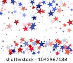 american independence day stars ... | Shutterstock .eps vector #1042967188