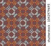 seamless pattern  luxurious...   Shutterstock . vector #1042979695