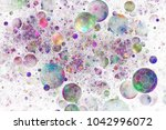 Abstract Glittering Background...