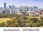 osaka  japan   october 27  2012 ... | Shutterstock . vector #1043066782