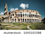 Colosseum Or Coliseum In Summe...