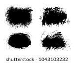 different grunge elements | Shutterstock .eps vector #1043103232