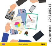financial planning with top... | Shutterstock .eps vector #1043108266