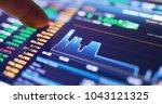 digital tablet display the... | Shutterstock . vector #1043121325