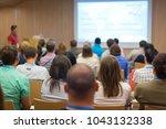 business and entrepreneurship... | Shutterstock . vector #1043132338