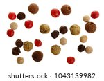 mixed of peppers hot  red ... | Shutterstock . vector #1043139982