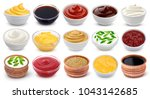 Different Sauces Isolated On...