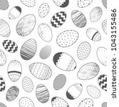 seamless pattern.pattern with... | Shutterstock .eps vector #1043155486