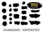 large set different grunge... | Shutterstock .eps vector #1043181322