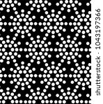 seamless pattern with dotted... | Shutterstock . vector #1043197366