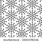 seamless vector pattern with... | Shutterstock .eps vector #1043198146