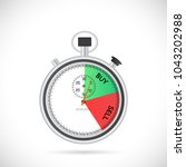 illustration of a stopwatch... | Shutterstock .eps vector #1043202988
