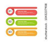 infographic design template... | Shutterstock .eps vector #1043237908