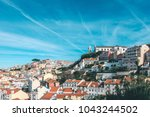 best  view of lisbon  portugal. ... | Shutterstock . vector #1043244502