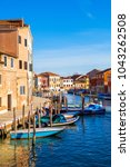island murano in venice italy...   Shutterstock . vector #1043262508