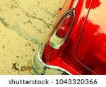 old rare car wallpaper... | Shutterstock . vector #1043320366