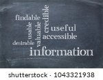 user experience concept  ...   Shutterstock . vector #1043321938