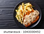 delicious wiener hunter... | Shutterstock . vector #1043330452