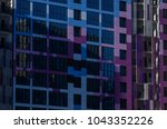 facing the building with a... | Shutterstock . vector #1043352226