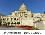 united states capitol building  ... | Shutterstock . vector #1043363092